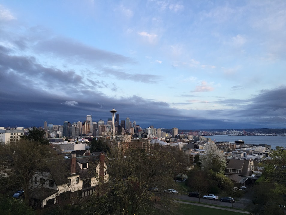 Classic Seattle View Seattle Washington United States