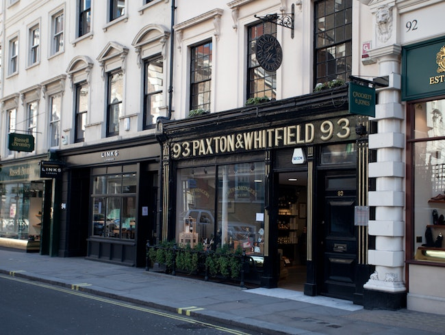 Cheesey London: Paxton & Whitfield