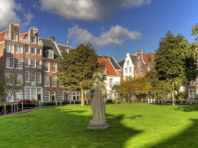 Begijnhof Amsterdam  The Netherlands