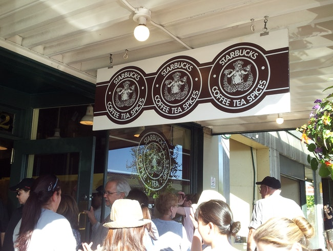 See the Original Starbucks