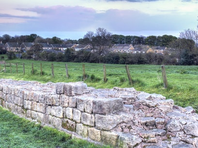 Hadrian's Wall Newcastle Upon Tyne  United Kingdom