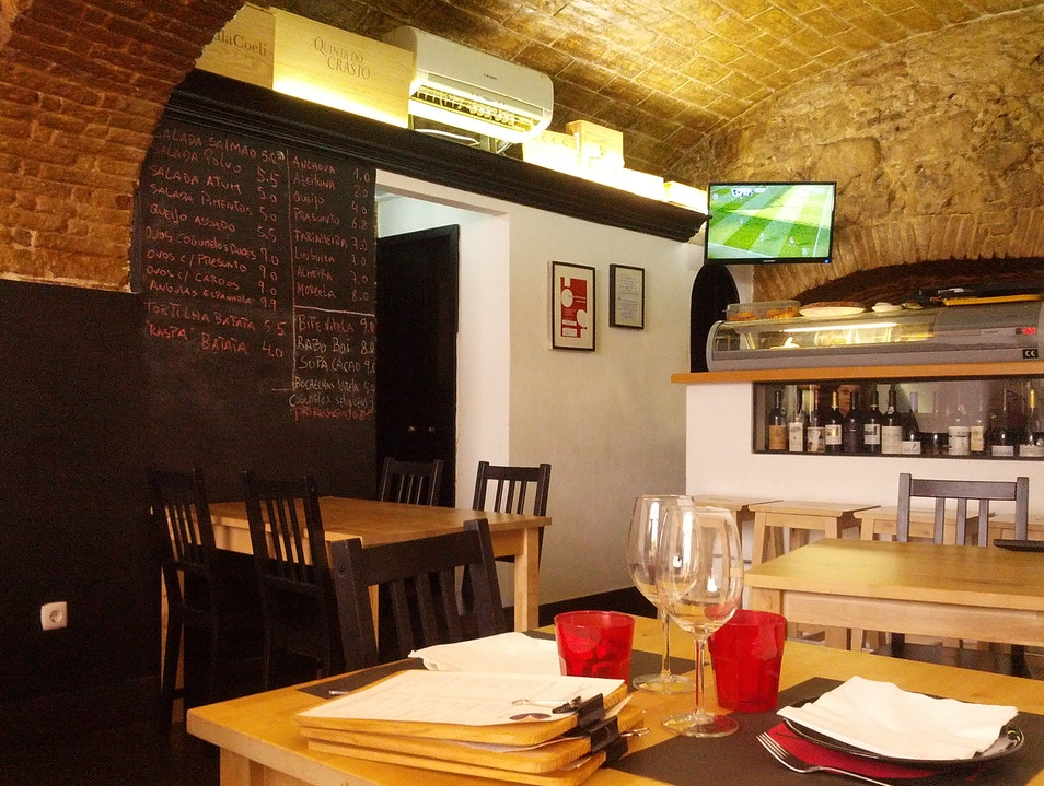 Delicious and Cozy Tapas Bar in the Center of Evora Evora  Portugal