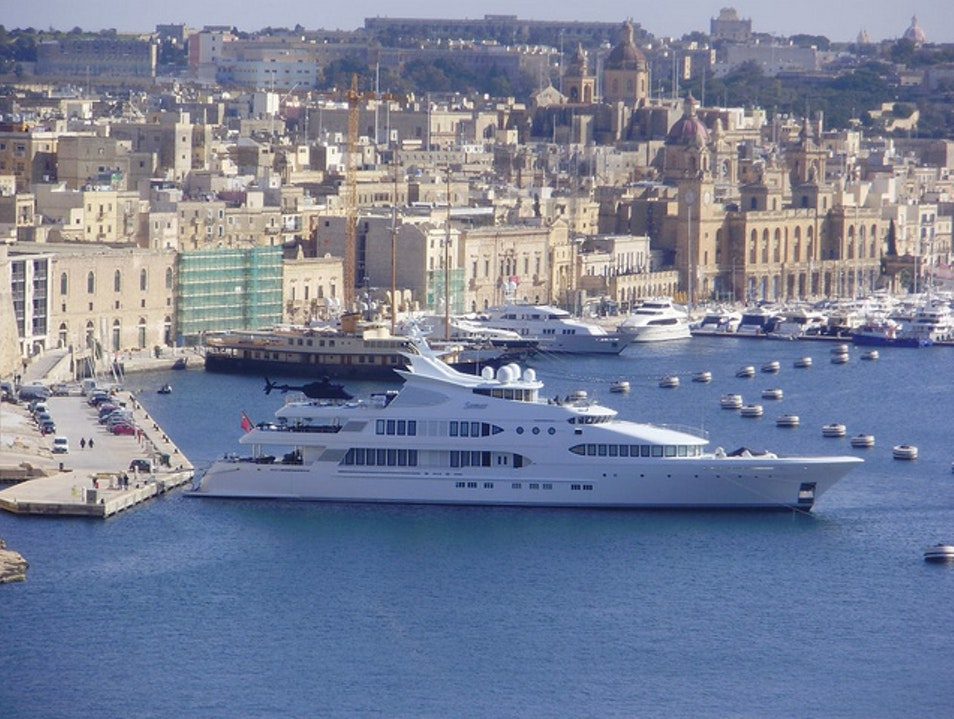 Yacht Dreaming at the Valletta Boat Show