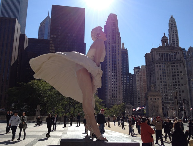 Ms Monroe and the Windy city