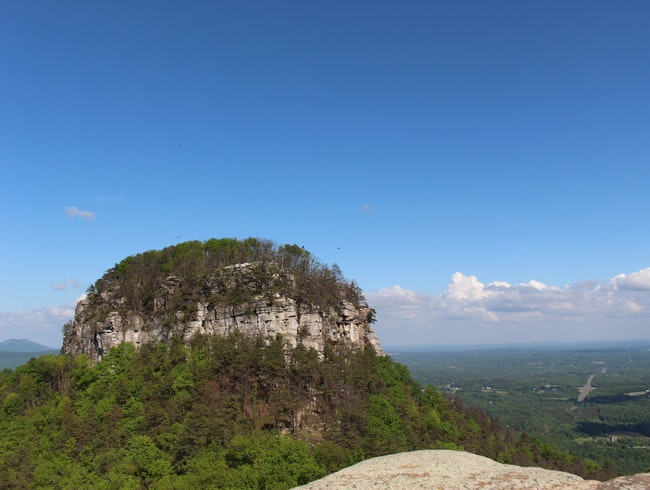 Hiking in Pilot Mountain