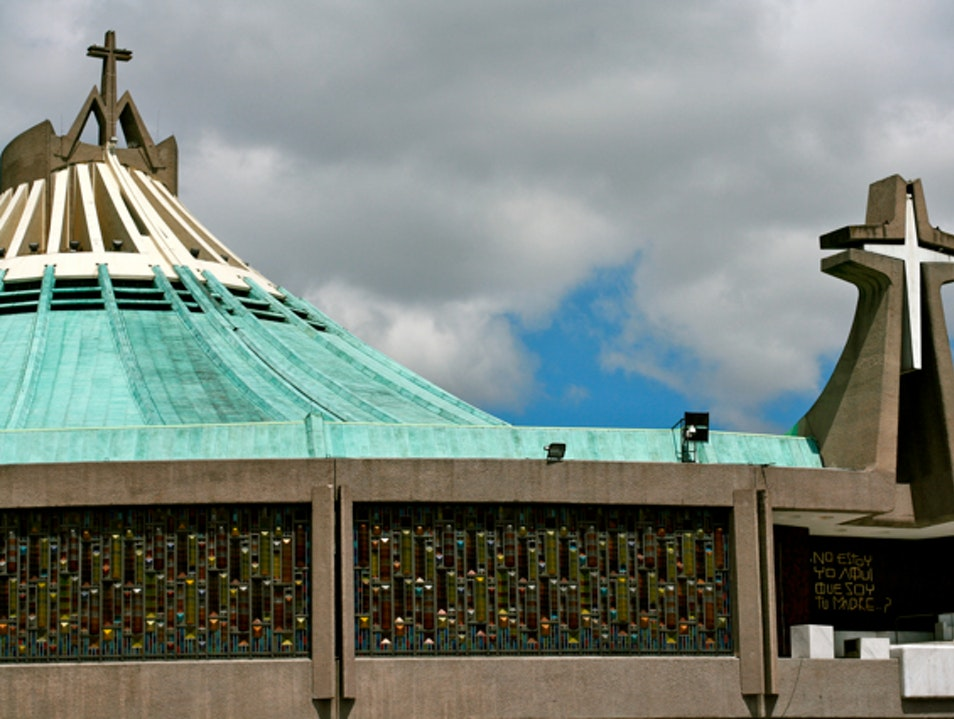 Make a Pilgrimage to the Basilica of Our Lady of Guadalupe Mexico City  Mexico