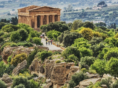 Valley of the Temples Agrigento  Italy