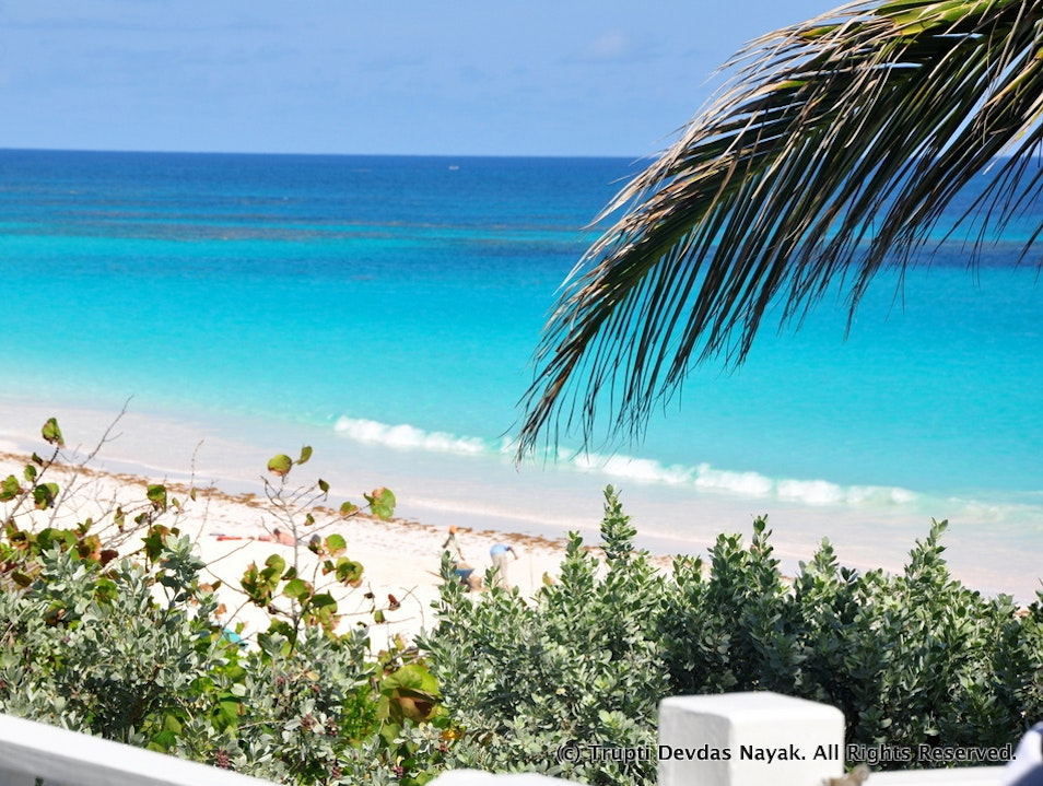 Bliss on a coral-strewn sliver of paradise in the Bahamas