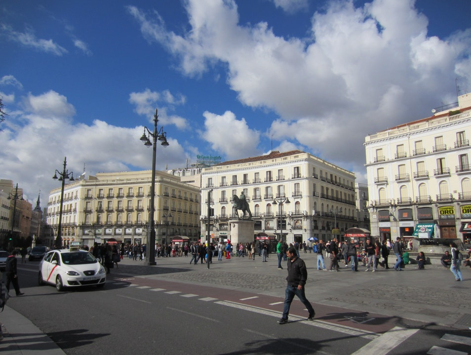 All Roads Lead to Puerta del Sol Madrid  Spain