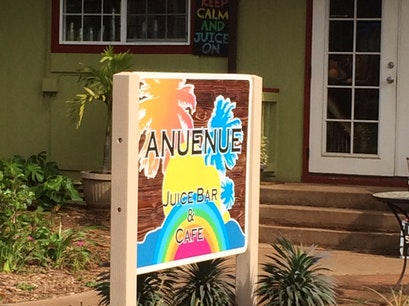 Anuenue Juice Bar & Cafe Lanai City Hawaii United States