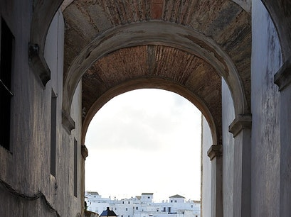 White-washed Village Vejer de la Frontera  Spain