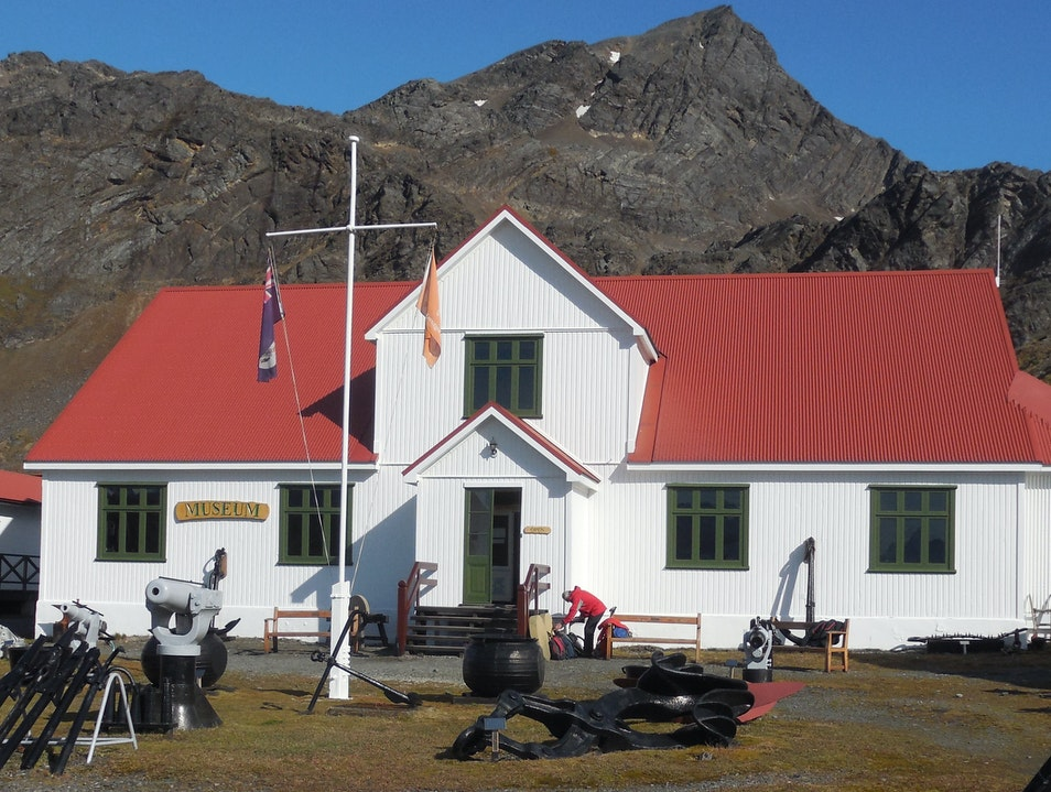 South Georgia Museum Grytviken  South Georgia and the South Sandwich Islands