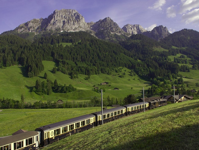 Glide Through Marvelous Mountains by Train