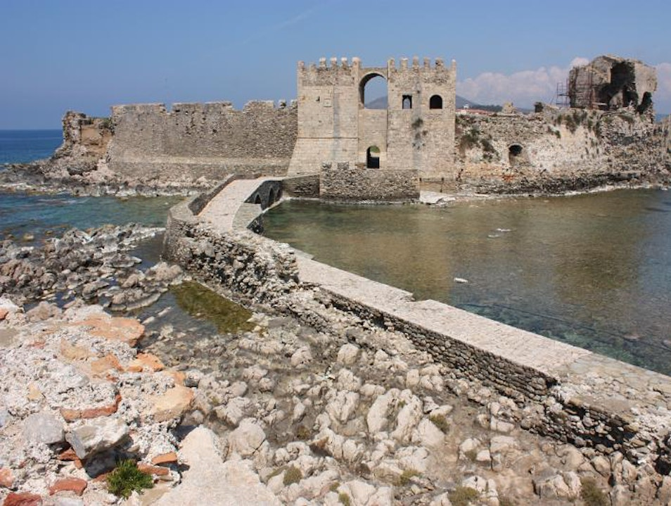 Exploring Historic Methoni Castle Methoni  Greece
