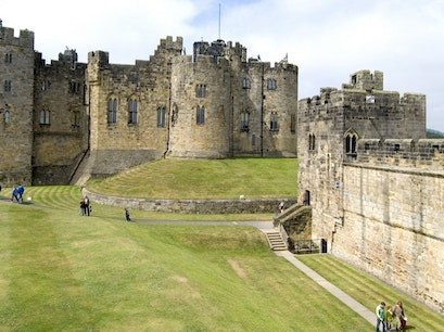 Alnwick Castle & Garden Alnwick  United Kingdom
