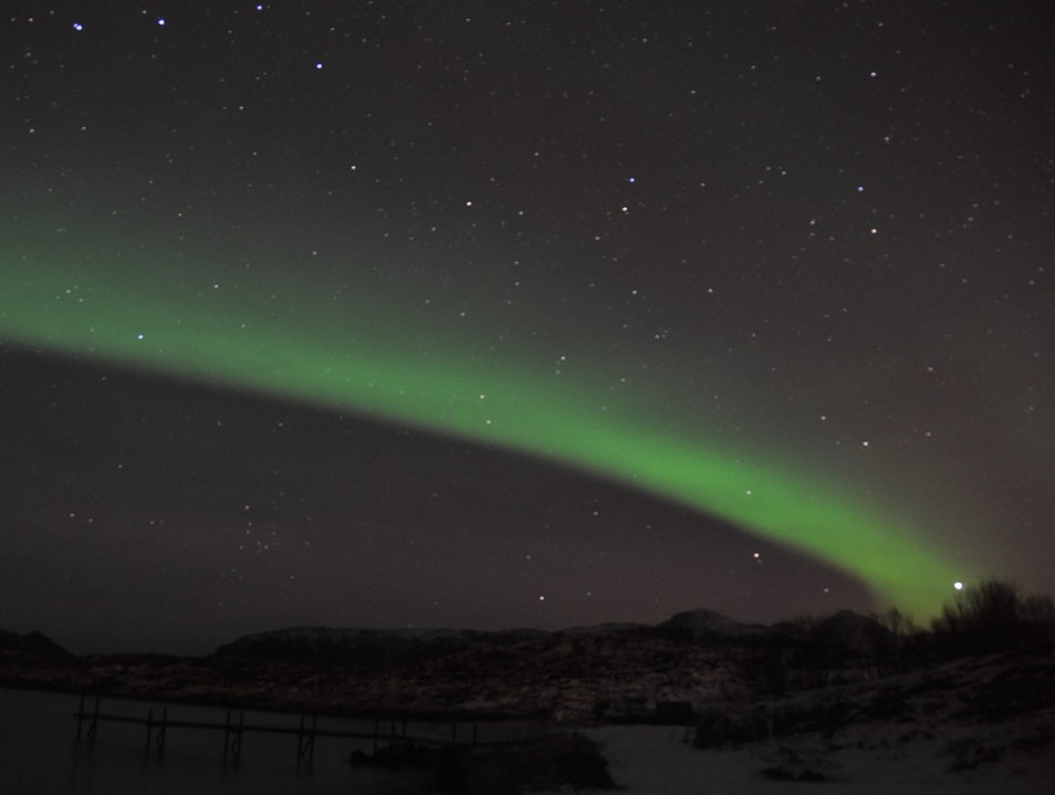Chasing the Auroras Borealis in Northern Norway Tromsø  Norway