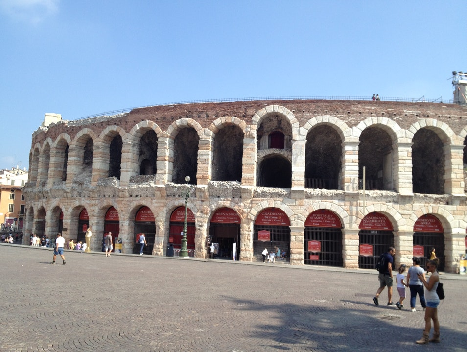 Concerts at the Third-Oldest Roman Coliseum Verona  Italy
