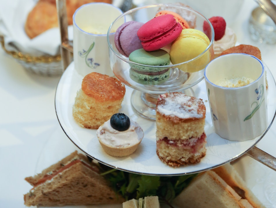 The coziest high tea in London