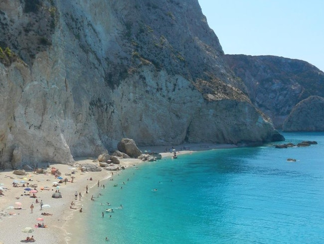 A Beautiful Beach in Greece
