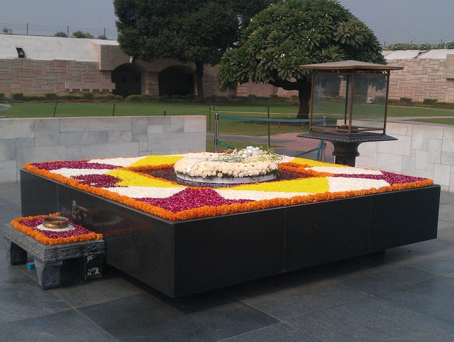 A Touching Gandhi Memorial
