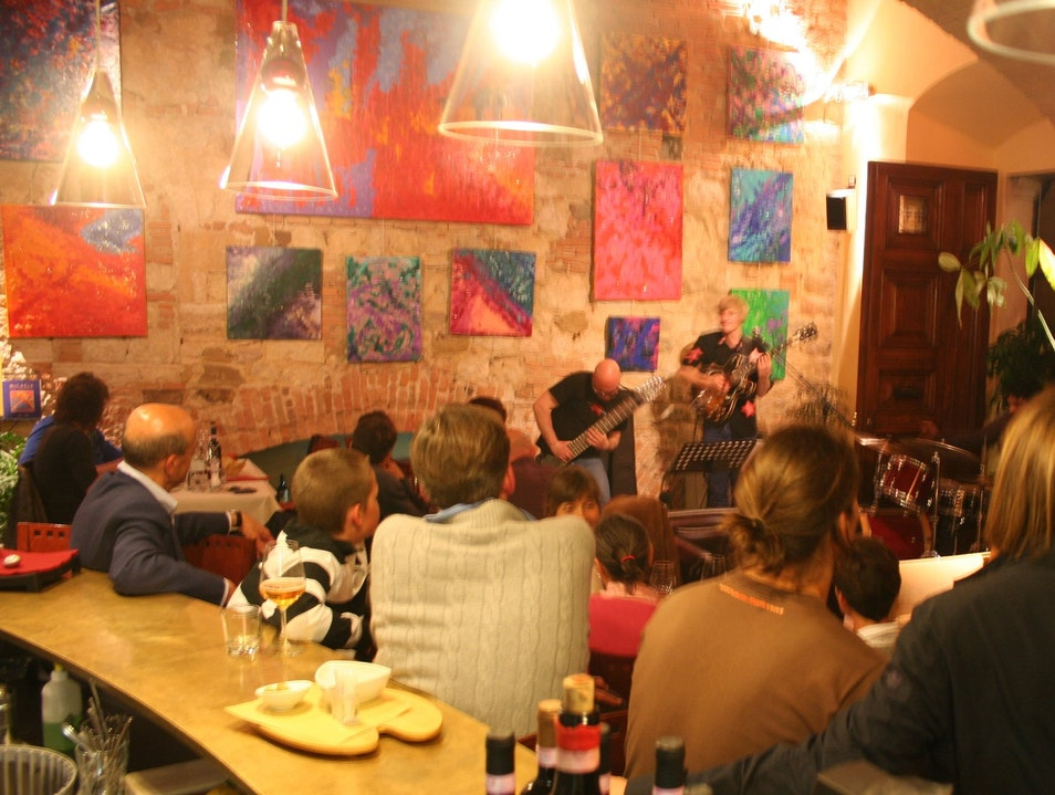 Live jazz and dinner Montepulciano  Italy