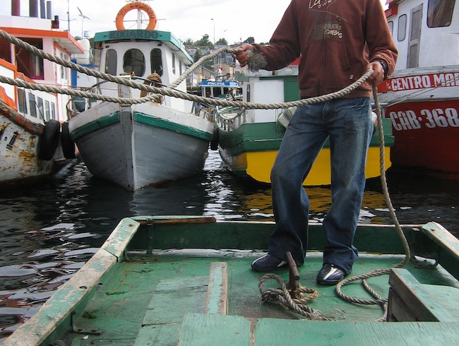 Navigating the Archipelago of Chiloe by Boat