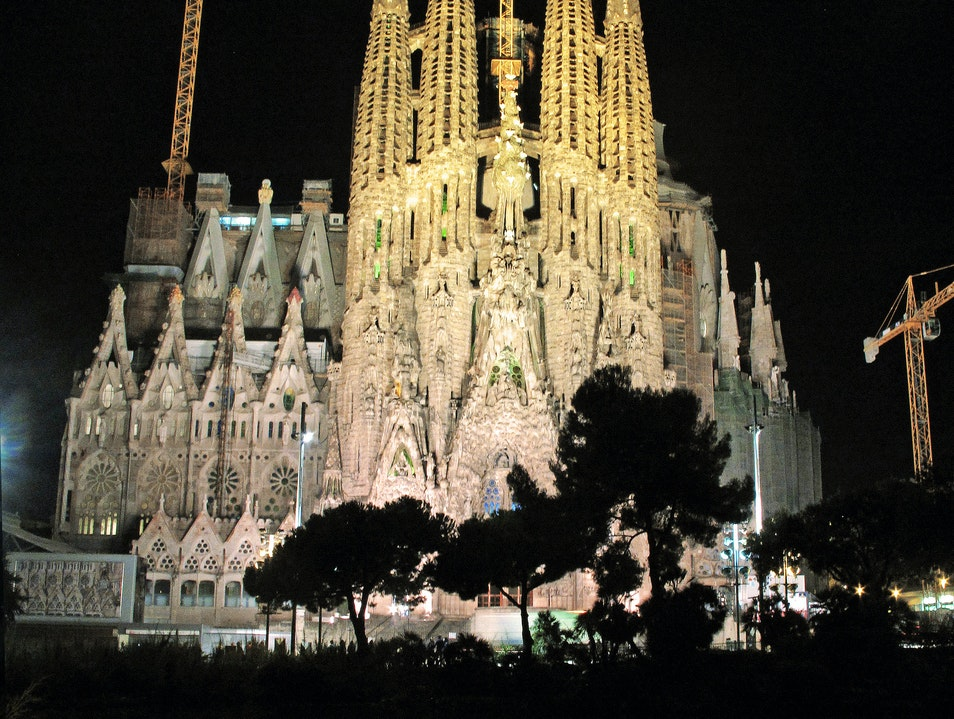 Get a New View of La Sagrada Familia Barcelona  Spain