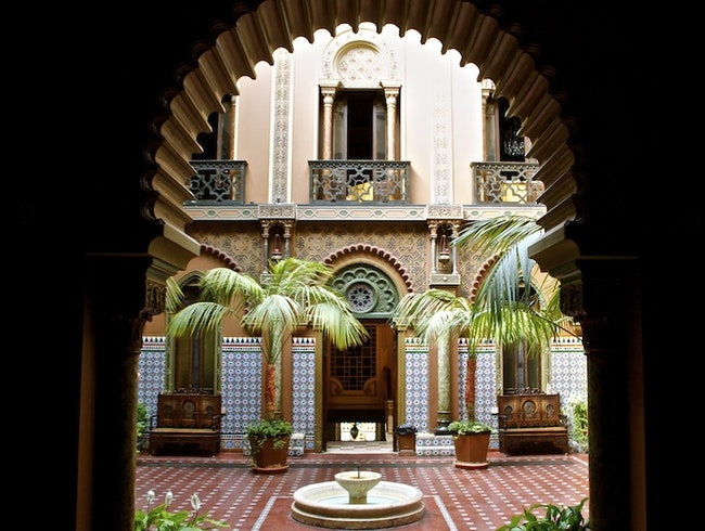 Eat Dinner in a Former Moorish Palace.