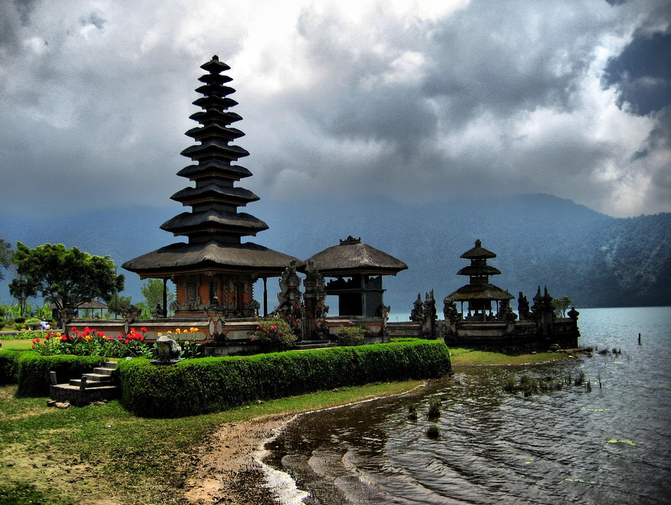 The Beauty of the Balinese Highlands Baturiti  Indonesia