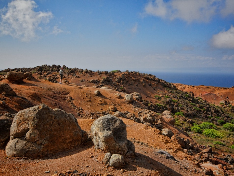 The Heavenly Garden of the Gods  Lanai City Hawaii United States