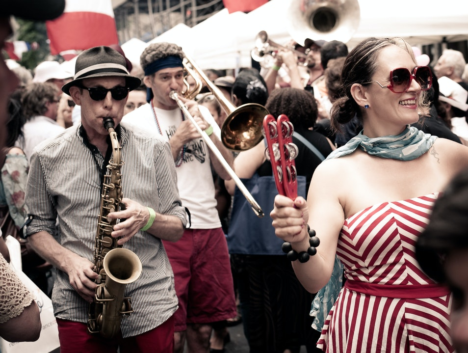 Oui, Oui to a Summer Fête New York New York United States