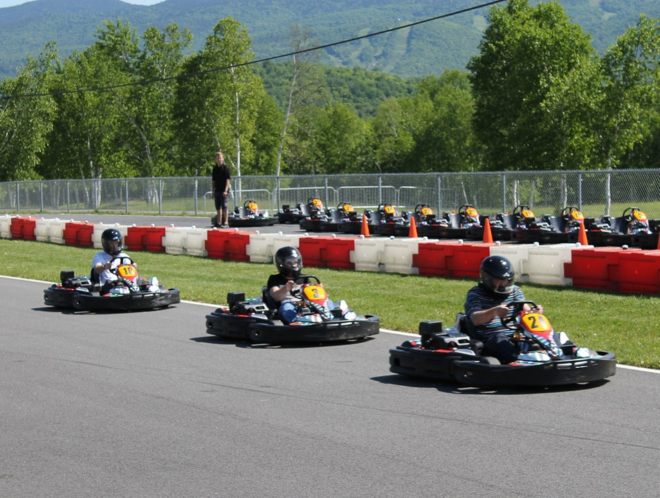 Pull on your Karting Gloves  Mont Tremblant  Canada
