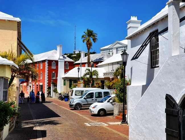 Walking Through St. George's, Bermuda