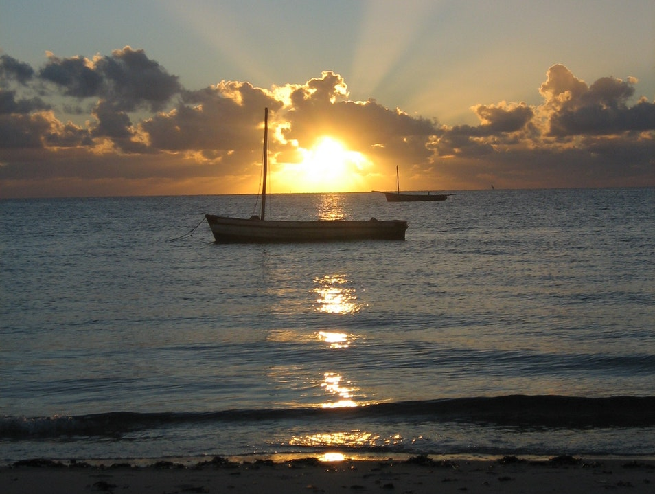 Sunrise over the Mozambique Channel