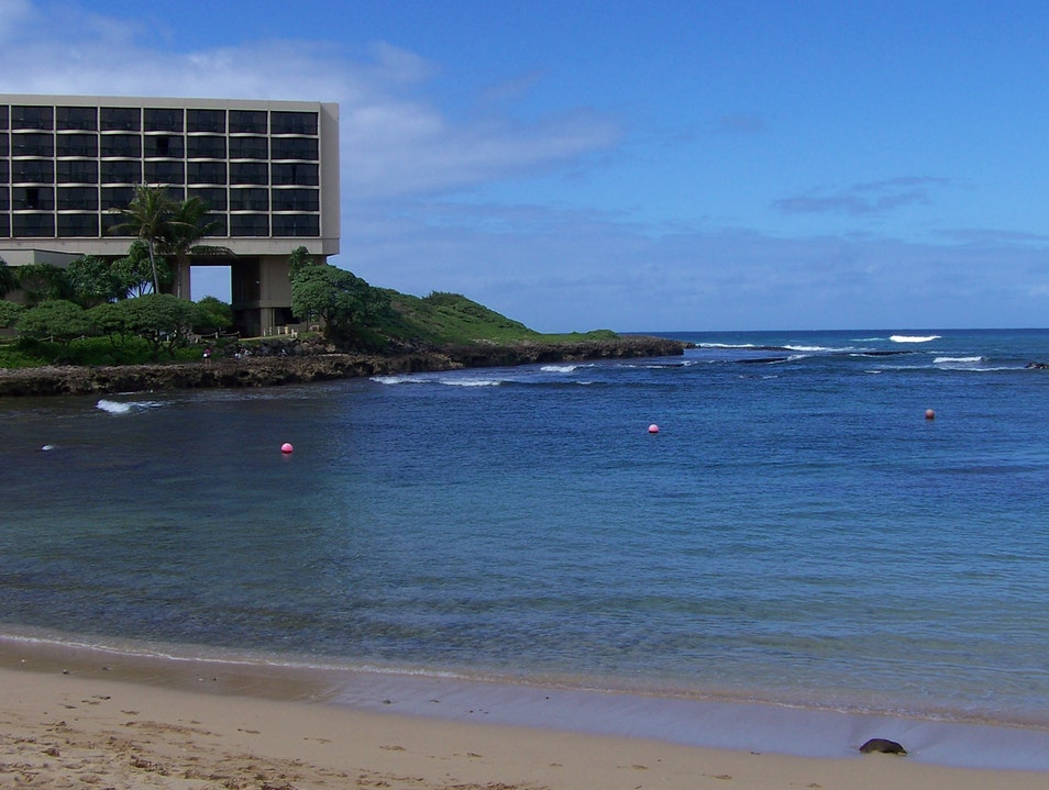 Ultimate relaxation: Outdoor massage overlooking the North Shore Kahuku Hawaii United States