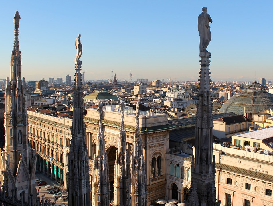A New Perspective of the Duomo of Milano Milan  Italy