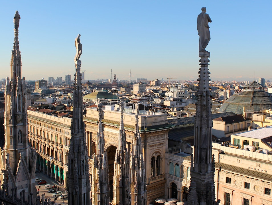 A New Perspective of the Duomo of Milano