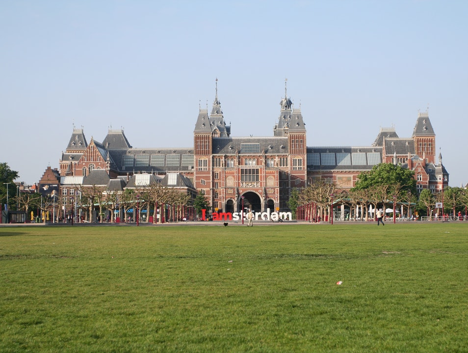 Museumplein: Where the Grass is Always Greener Amsterdam  The Netherlands