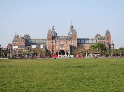 Museumplein Amsterdam  The Netherlands