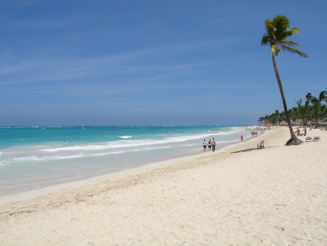 Surfing in Punta Cana,