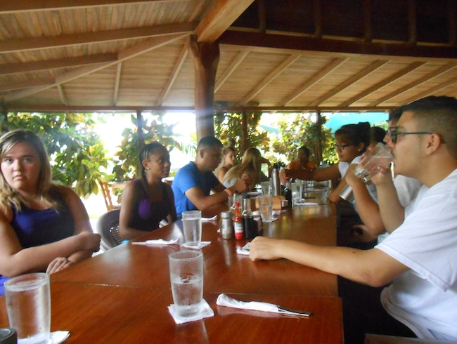 """Normal"" Day At The Table in Costa Rica!"