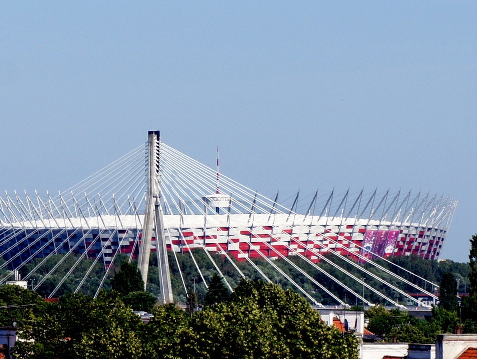 Brand New National Stadium in Warsaw Warsaw  Poland