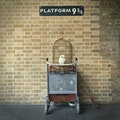 Platform 9 3/4 London  United Kingdom