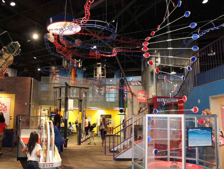 Family Fun in Houston at the Children's Museum Houston Texas United States