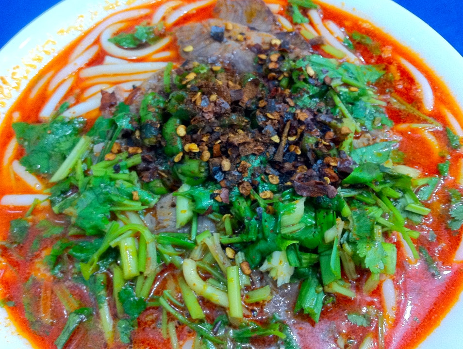 Try the mutton noodles, a Zunyi specialty Zunyi  China