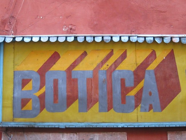 Mexican Hand Painted Signs