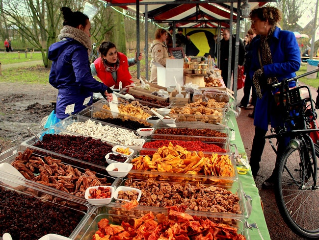 Amsterdam's Pure Markt: Pure Food, International Flavor