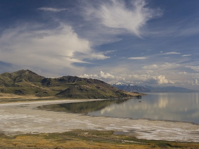Great Salt Lake Kaysville Utah United States