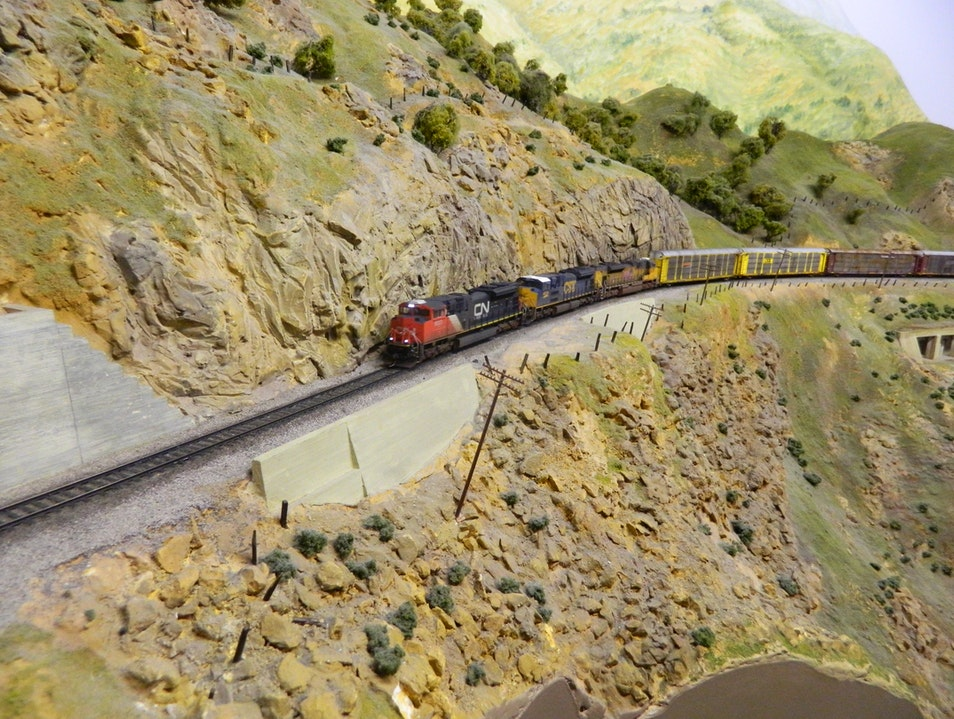World's Largest Indoor Railroad Display  San Diego California United States
