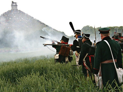 Battle of Waterloo Waterloo  Belgium